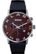 Alphabet Chrono Brown