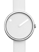 Picto 30 mm White / Steel
