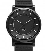 TID No.4 Gun Metal Leather фото 1