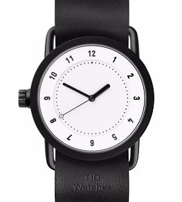 No.1 White Leather <br>36 mm