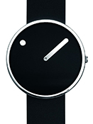 Picto 40 mm Black / Steel