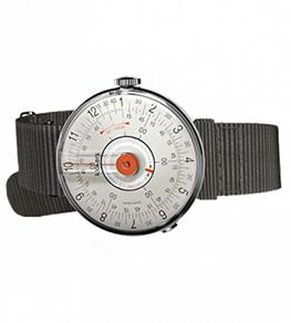 63f61e5c Klokers KLOK-08 Orange Grey nylon дизайнерские наручные часы купить  (заказать) в России